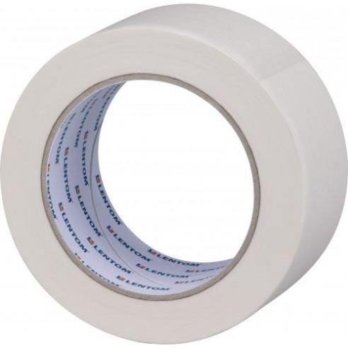 Krepová páska bílá – malířská